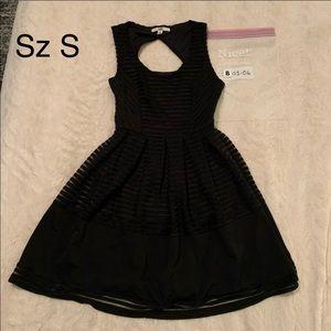 🤪3/$12🤪 YA LOS ANGELES DRESS S 3/4 BLACK
